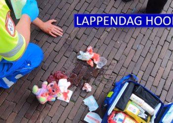 Meekijken met dienst politie Hoorn tijdens Lappendag [video]
