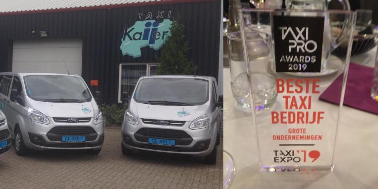 Taxi Kaijer uit Wervershoof 'Taxibedrijf van het jaar'