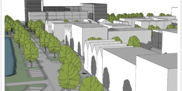 Plan 142 appartementen op locatie vanSauna Suomi in Hoorn