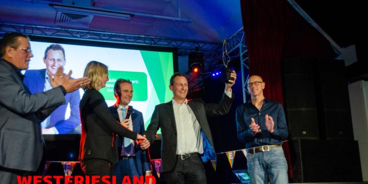 Award Duurzaam Medemblik voor Hans Boukens van Interpromo