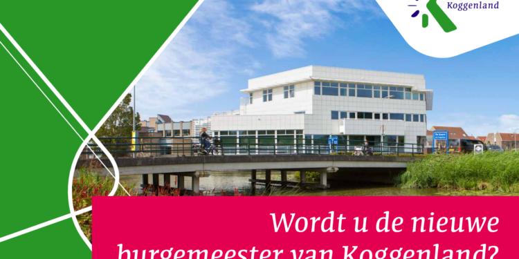 Nieuwe vacature ronde burgemeester Gemeente Koggenland