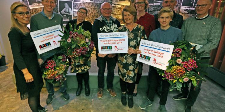 De winnaars van de Hoornse Vrijwilligersprijs 2019 zijn…