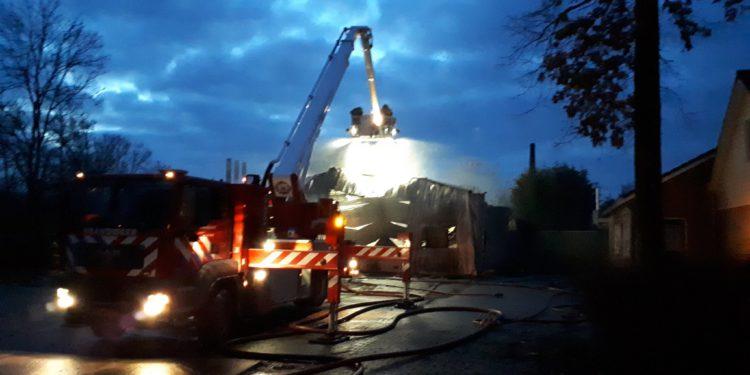 Brandstichting niet uitgesloten bij brand schuur bungalowpark in Medemblik