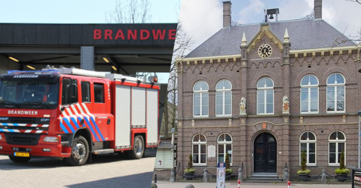 Zeer grote brand in Raadhuis aan de Dorpsstraat in Obdam (update)