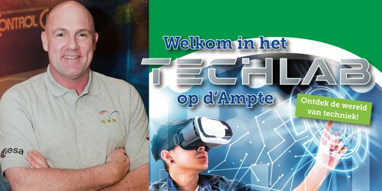 André Kuipers opent nieuw Hoorn's Techlab ter promotie van techniek