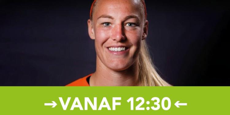 Zondag meet & greet met Oranje Leeuwin Stefanie van der Gragt