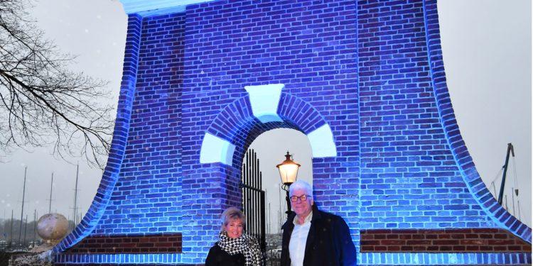 'Iedereen is trots op het gerenoveerde Staverse Poortje'