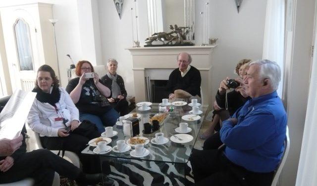 Negende jaar koffie-ontvangst cruisegasten in Hoorn