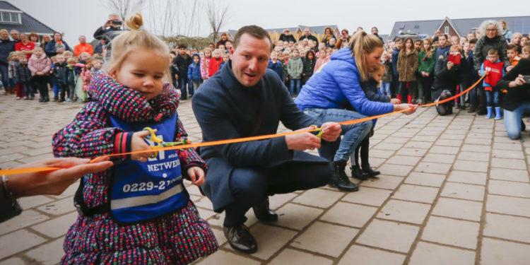 Nieuwbouw voor IKC De Kreek in Zwaag officieel geopend