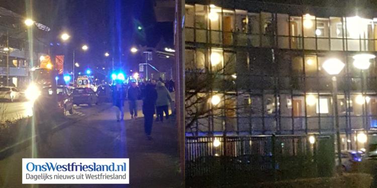Brand appartement Betsy Perk Hoorn: Zwaargewonde en 30 bewoners tijdelijk elders opgevangen