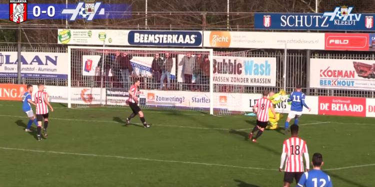 Effectieve Suleiman bezorgt Hollandia 3-0 winst [video]