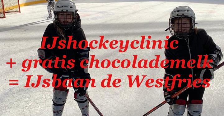 Vandaag gratis IJshockeyclinic voor alle kids