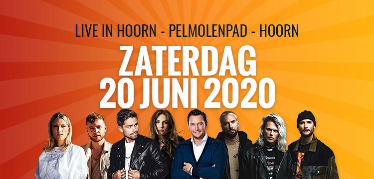 Line up van 10e editie 'Live in Hoorn' op Pelmolenpad bekend (update)