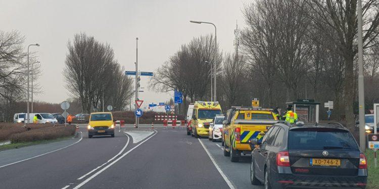 Verkeersregelaar aangereden bij afzetting N247 (update)
