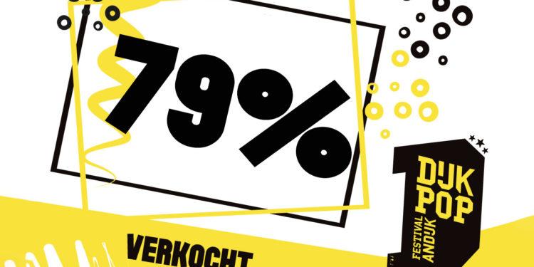 Stormachtige verkoop van kaarten Dijkpop