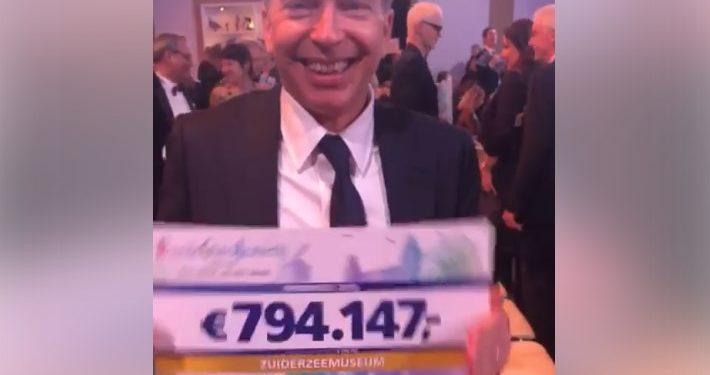 Cheque van €794.147 van loterij voor Zuiderzeemuseum