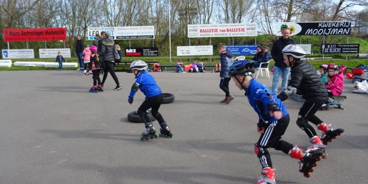 Actie meedoen bij Open Dag Radboud Inline-Skating
