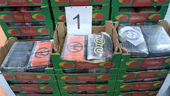 1170 kilo cocaïne verstopt tussen mango's voor bedrijf in Zwaag