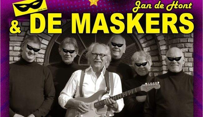Optreden Jan de Hont met De Maskers 2.0 in Andijk