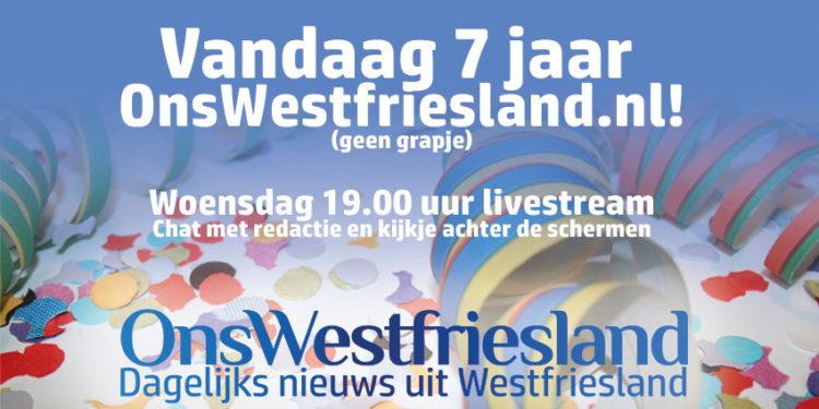 OnsWestfriesland.nl bestaat 7 jaar! Videochat met redactie
