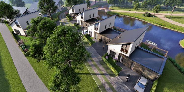 Uitvaartcentrum Grootebroek maakt plaats voor acht patiowoningen