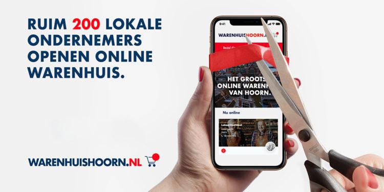 Hoornse lokale ondernemers open samen nieuw online warenhuis
