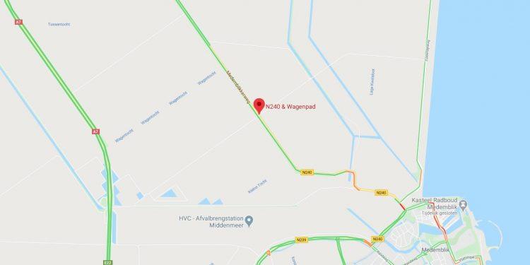 Twee doden en meerdere gewonden bij verkeersdrama N240 nabij Medemblik