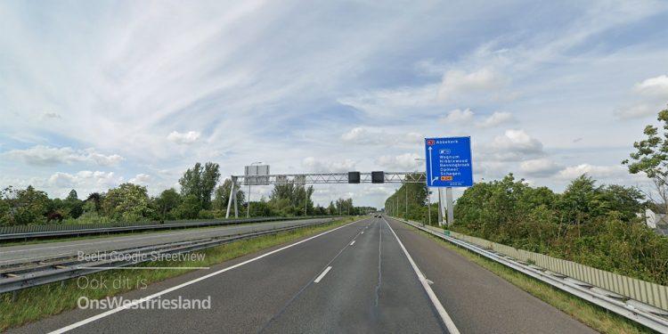 Nachtafsluitingen A7 Hoorn-Abbekerk vanaf 2 juni