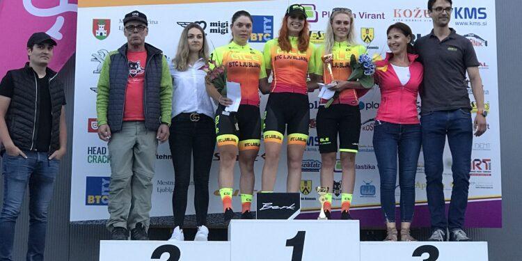 Winst voor Westfriese Maaike Boogaard in eerste wielerkoers na corona uitbraak