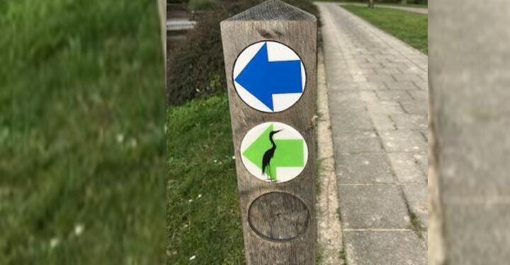 Fotopuzzeltocht bij opening Groene Reigerroute door Hoogkarspel
