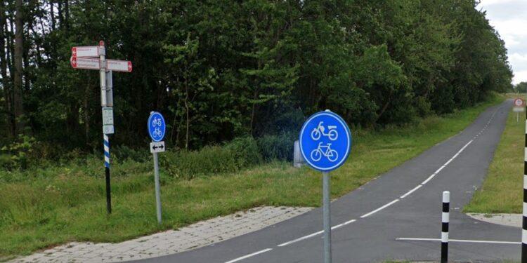 Volgende week werkzaamheden fietspad dijk Enkhuizen-Lelystad