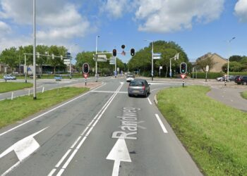 Verkeerslichten Randweg N505 anders ingesteld