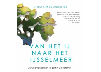 Van het IJ naar het IJsselmeer; De Onafhankelijken te gast in De Boterhal
