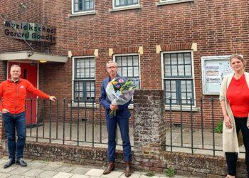 Wouter Hakhoff blijft verbonden aan muziekschool Boedijn