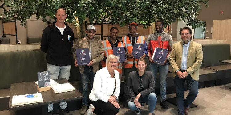 GroenStart behaalt ondanks Corona opnieuw 100% score met Nieuwkomers