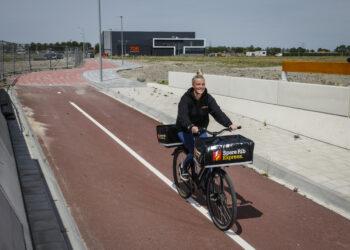 Geopende fietstunnel noodzakelijke verbinding fietsers met Zevenhuis