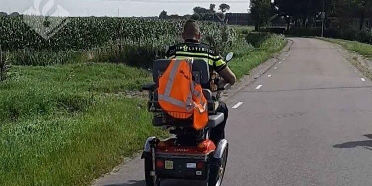 Aanrijding met scootmobiel in Schagen