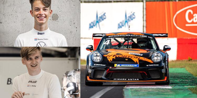 Twee Porsches Bas Koeten Racing uit Westwoud aan start Formule 1-weekend Spa