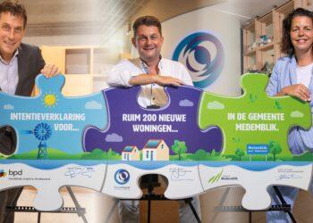 200 woningen in nieuwe wijk Molenblik aan rand van kern Medemblik