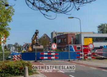 Werken aan overweg dorpsstraat Zwaag; Geen man meer met rood vlaggetje op de weg