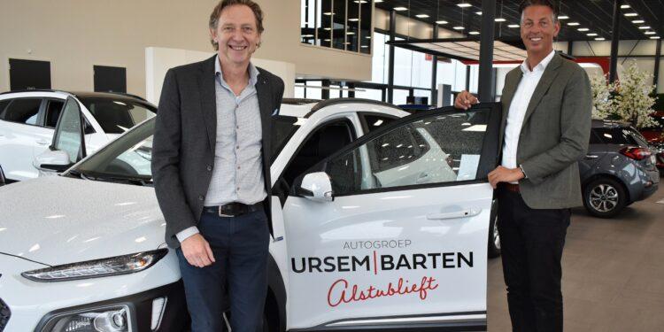Dealerbedrijven Peter Ursem en Dirk Barten samen verder als Autogroep Ursem Barten