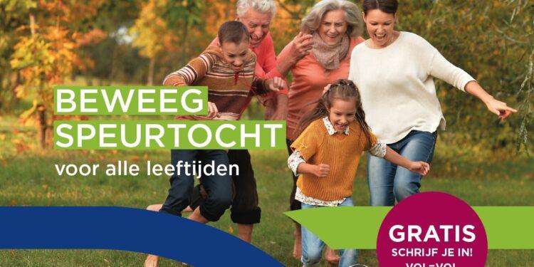 Beweegspeurtochten in de regio door Team Sportservice West-Friesland
