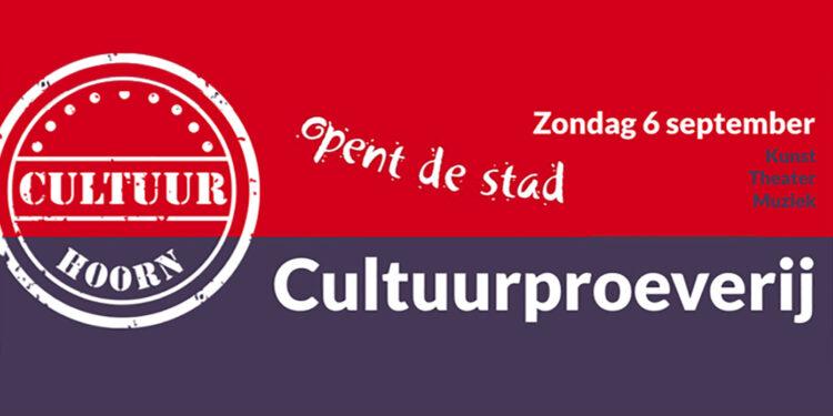 Zondag divers programma tijdens Cultuurproeverij in Hoorn