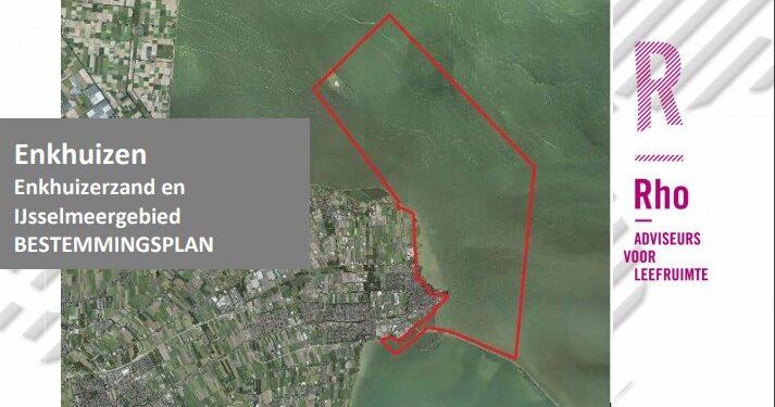 Voorstel wijziging bestemmingsplan Enkhuizerzand en IJsselmeergebied aangepast