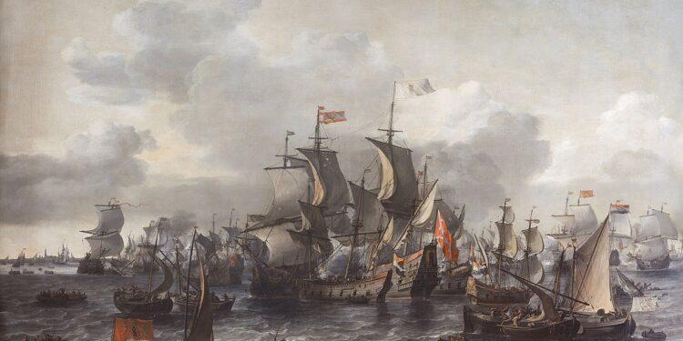 Scan bodem Hoornse Hop op zoek naar resten maritieme historie; Slag om de Zuiderzee