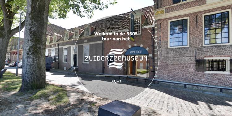 Kijk vanuit huis in 360° video tentoonstelling Zuiderzeemuseum