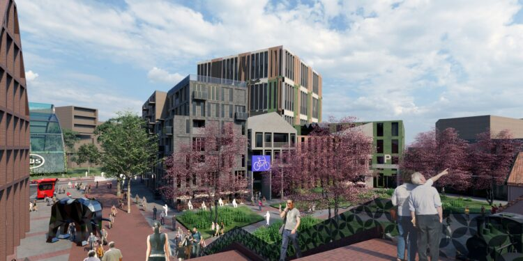 Raad buigt zich over stedenbouwkundig plan NS Station en Pelmolenpad [fotos]