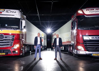 Simon Loos en Peter Appel Transport gaan fuseren