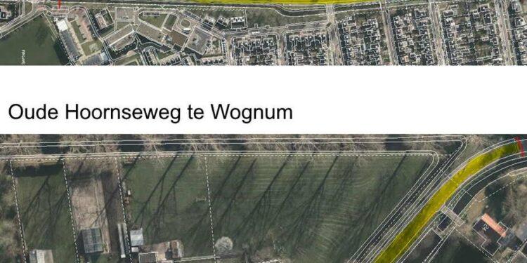 Delen Nieuweweg en Oude Hoornseweg in Wognum afgesloten voor onderhoud