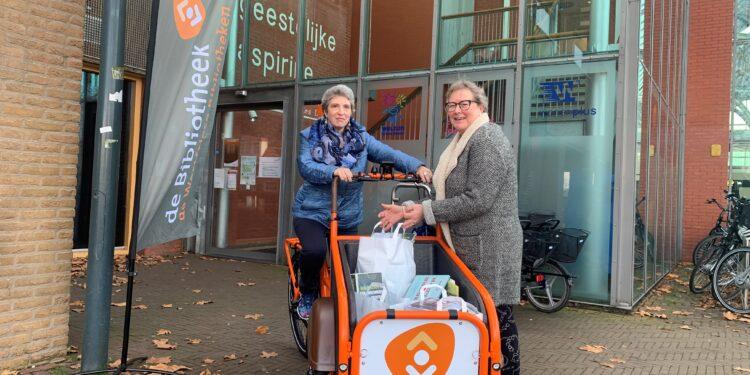 BestelBieb geholpen met drie oranje soci.bikes